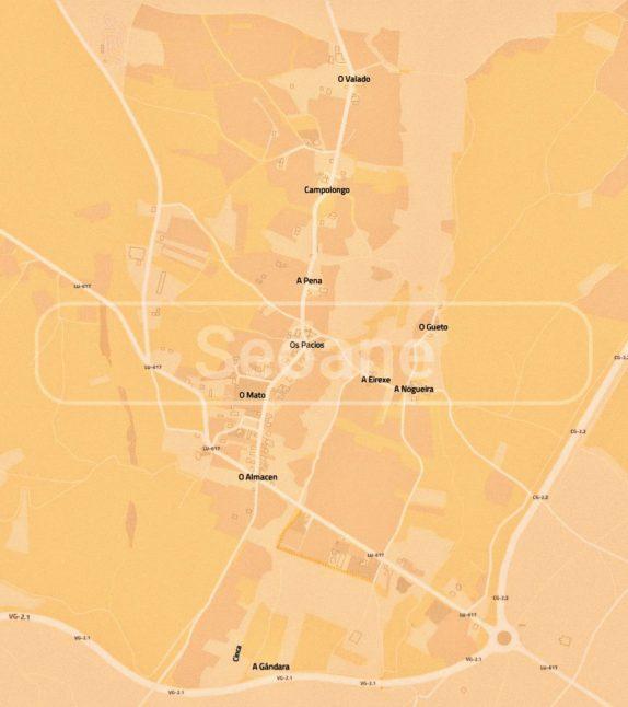 Mapa Seoane